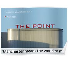 Manchester means the world to me 12 Poster