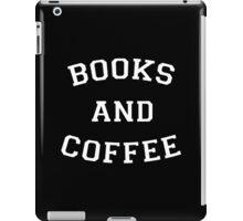 Books and Coffee - White iPad Case/Skin