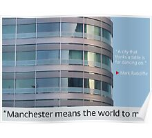 Manchester means the world to me 15 Poster