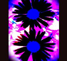 FUNKY IPHONE COVER - TWO DAISIES by Colleen2012