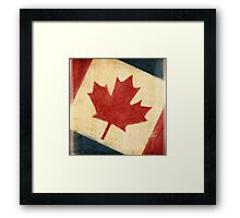 Canada flag Framed Print