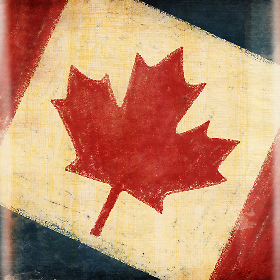 Canada flag by naphotos