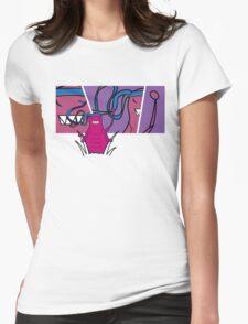 Bruce Flea 2 Womens Fitted T-Shirt
