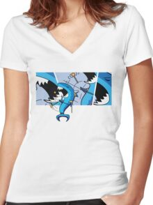 Dah Dum 2 Women's Fitted V-Neck T-Shirt