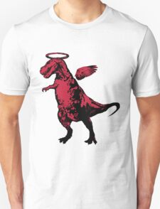 Angel Rex (red and black) Unisex T-Shirt