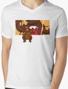 foe grizzle 2 Mens V-Neck T-Shirt