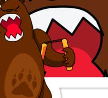 foe grizzle 2 Sticker