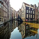 Amsterdam Canal II by Ludwig Wagner
