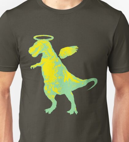 Angel Rex (yellow and mint) Unisex T-Shirt