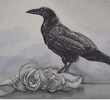 Ravens and Roses by Mandolin-Crow