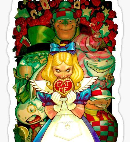 Hello Alice Sticker