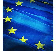 European flag Photographic Print