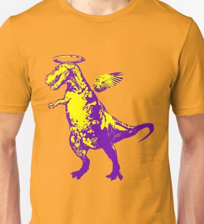 Angel Rex (purple and yellow) Unisex T-Shirt