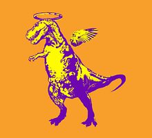 Angel Rex (purple and yellow) Unisex T-Shirt