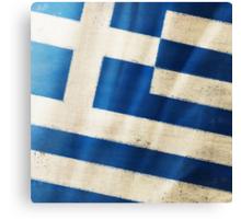 Greece flag  Canvas Print