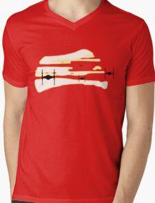TFA Sunrise Mens V-Neck T-Shirt