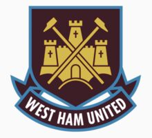 west ham united logo Kids Tee