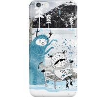 Snow Monster iPhone Case/Skin