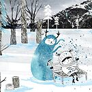 Snow Monster by Holly Hatam