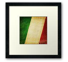Italy flag Framed Print