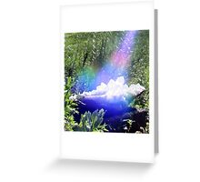 Crystal Portal Greeting Card