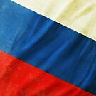 Russia flag  by naphotos