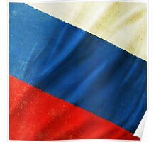 Russia flag  Poster