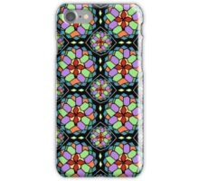 Mosaic stained glass pattern iPhone Case/Skin