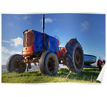 Mr Red Tractor Poster