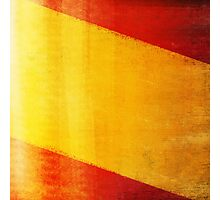 Spain flag  Photographic Print