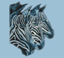 ZEBRAS   I PAD/TEES/PHONE/STICKERS/ART Kids Clothes
