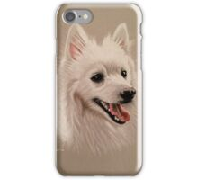 Poiskey the beautiful pomeranian iPhone Case/Skin