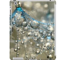 Cyan & Gold iPad Case/Skin