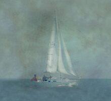 Yacht  iPad Case by Catherine Hamilton-Veal  ©