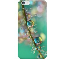 Smokey Rainbow Drops iPhone Case/Skin