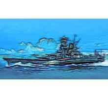 Battleship Photographic Print