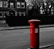 Post Box  by CamHphotogrpahy