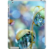Rainbow Moss Drops iPad Case/Skin