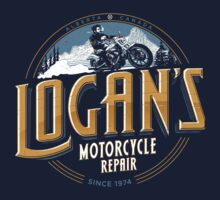 Logan's Motorcycle Repair Baby Tee