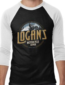 Logan's Motorcycle Repair Men's Baseball ¾ T-Shirt
