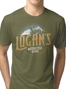 Logan's Motorcycle Repair Tri-blend T-Shirt