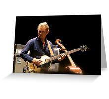 Chris Wood on the Hofner Greeting Card