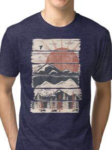 Winter Pursuits... Tri-blend T-Shirt