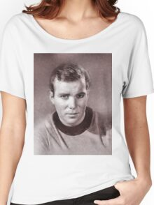 William Shatner by John Springfield Women's Relaxed Fit T-Shirt