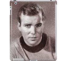 William Shatner by John Springfield iPad Case/Skin