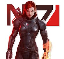 N7 & Proud by AnOldGhoul