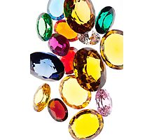 colorful gems Photographic Print