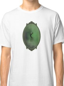 A green dragon emerging from the mist Classic T-Shirt