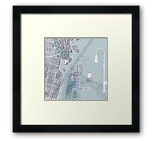 Composite (New York City) Framed Print