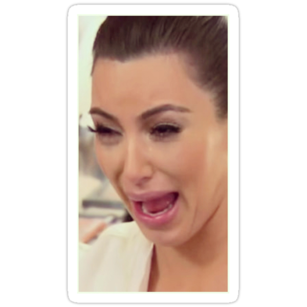 Kim Kardashian Cry Face by BurbSupreme